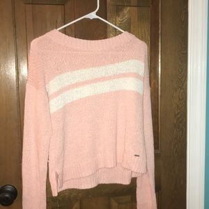 light pink Hollister sweater